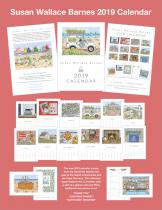 Susan Barnes 2019 Calendar Small