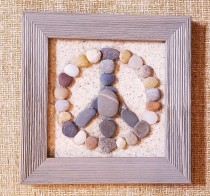 Stone Peace Sign – ART